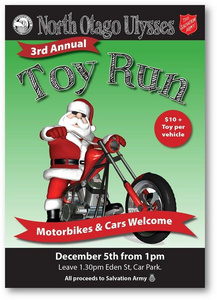 North Otago Ulysses Toy Run