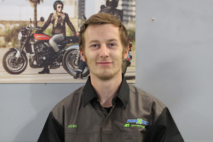 Josh Goddard –Motorcycle Mechanic Trainee