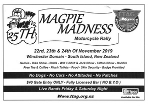 Magpie Madness Rally 2019