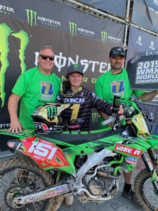 Courtney Duncan crowned Women's Motocross World Championship (WMX) champion